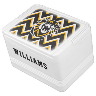 Fort Hays State | Chevron Pattern Igloo Cooler