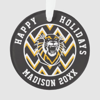 Fort Hays State | Chevron Pattern Ornament