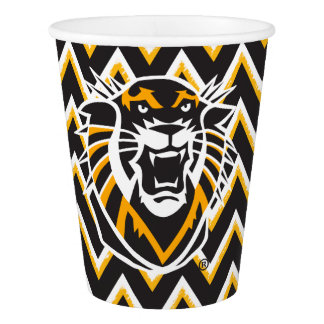 Fort Hays State | Chevron Pattern Paper Cup
