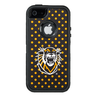 Fort Hays State | Polka Dot Pattern OtterBox Defender iPhone Case