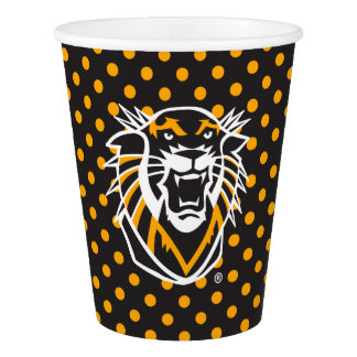 Fort Hays State | Polka Dot Pattern Paper Cup