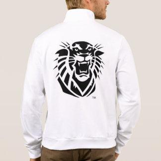 Fort Hays State Primary Mark | Black & White Logo Jacket