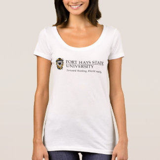 Fort Hays State Primary Mark | Motto T-Shirt