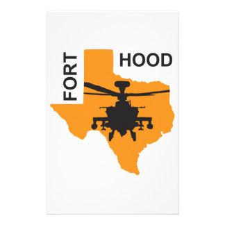 Fort Hood Base Customised Stationery