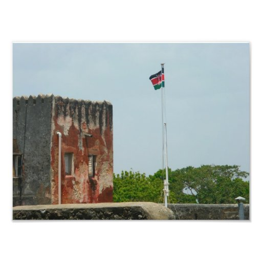 Fort Jesus 2 Mombasa, Kenya, East Africa Photographic Print
