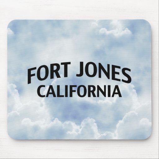 Fort Jones California Mouse Pads