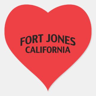 Fort Jones California Sticker