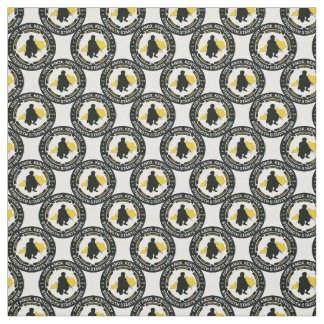 Fort Knox Logo Fabric By Charles Abrams ART!YES