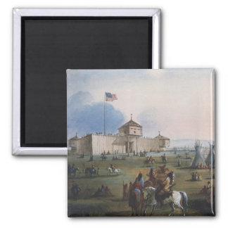 Fort Laramie, Sublette Fort, Fort William, Miller Square Magnet