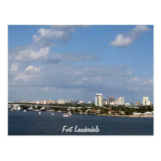 Fort Lauderdale Bay Area Fort Lauderdale Post Card
