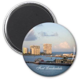 Fort Lauderdale Bay Magnet