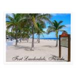 Fort Lauderdale Beach  Florida Post Card