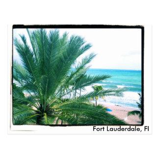 Fort Lauderdale, Fl Postcard
