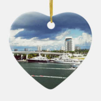 Fort lauderdale Florida Christmas Ornament