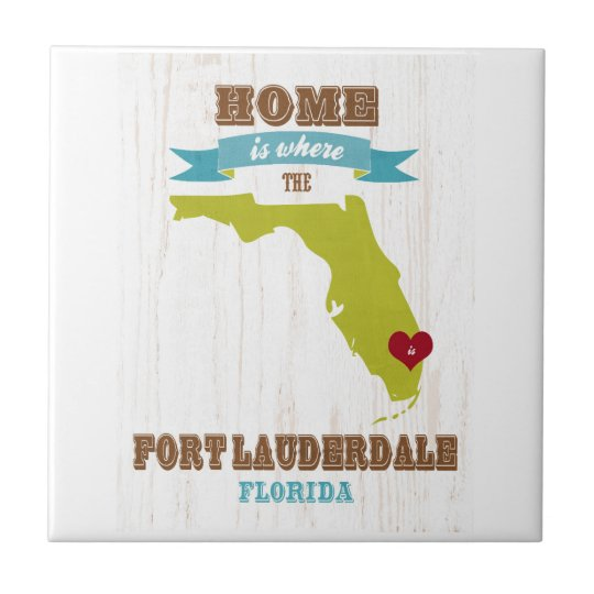 Fort Lauderdale, Florida Map – Home Is Where