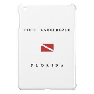 Fort Lauderdale Florida Scuba Dive Flag Cover For The iPad Mini