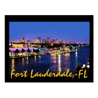 Fort Lauderdale, Florida, the Venice of America! Postcards