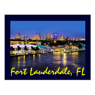 Fort Lauderdale, Florida, the Venice of America! Postcard