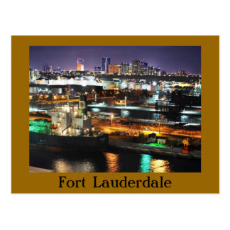 Fort Lauderdale, Florida, U.S.A. Post Card