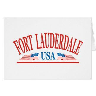 Fort Lauderdale Greeting Card