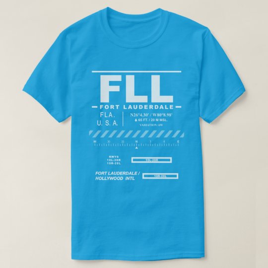 Fort Lauderdale-Hollywood Int'l Airport Tee Shirt