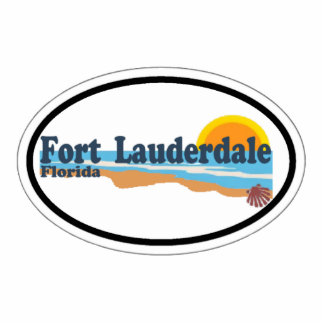 Fort Lauderdale. Photo Sculpture Magnet