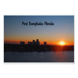 Fort Lauderdale sunrise Custom Announcement