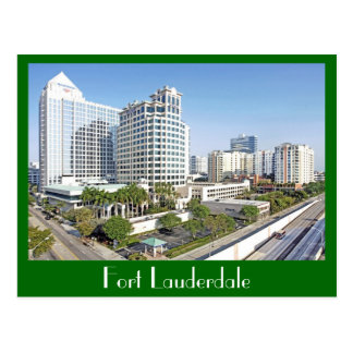 Fort Lauderdale, The City of Bright Tomorrows Post Cards