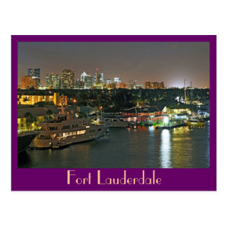 Fort Lauderdale The Venice of the Americas Postcards