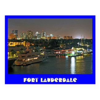Fort Lauderdale The Venice of the Americas Post Card