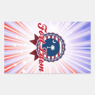 Fort Lawn, SC Rectangular Stickers