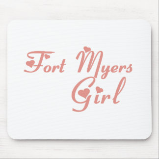 Fort Lee Girl tee shirts Mouse Pad