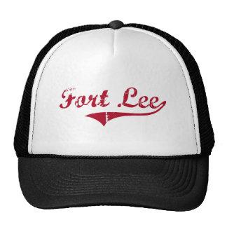 Fort Lee New Jersey Classic Design Trucker Hat