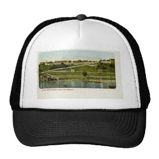 Fort Mackinac from the Harbor Vintage Cap