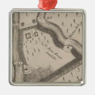Fort Manchester Tennessee Christmas Ornament