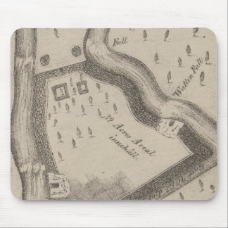 Fort Manchester Tennessee Mouse Mat