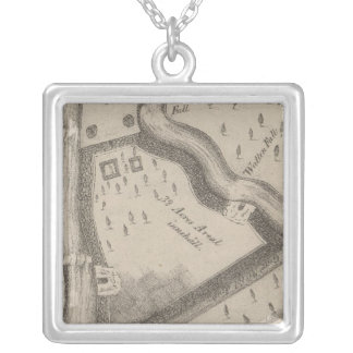Fort Manchester Tennessee Silver Plated Necklace