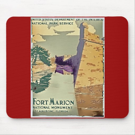 Fort Marion Design Mousepads