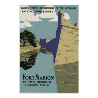 Fort Marion Florida Poster