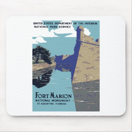 Fort Marion National Monument Mouse Pads