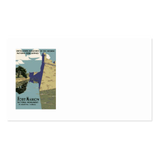 Fort Marion National Monument St Augustine Florida Pack Of Standard Business Cards