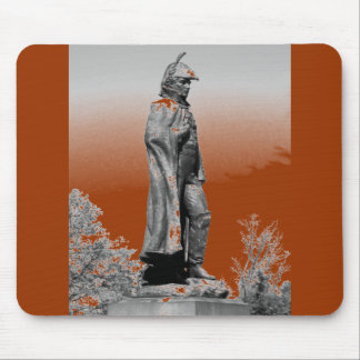 Fort McHenry Statue B+W Mouse Pad