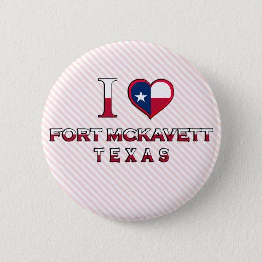 Fort McKavett, Texas 6 Cm Round Badge