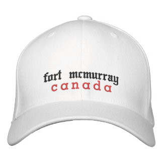 fort mcmurray, canada, Hat Embroidered Hats
