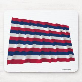 Fort Mifflin Waving Flag Mouse Pad