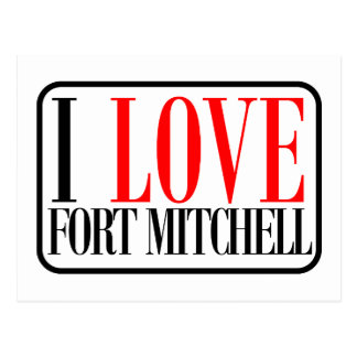 Fort Mitchell Postcard