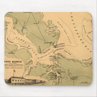 Fort Monroe Mouse Pads