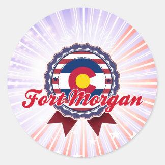 Fort Morgan, CO Sticker