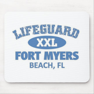 Fort Myers beach Mouse Pad