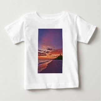 Fort Myers Beach Sunset Baby T-Shirt